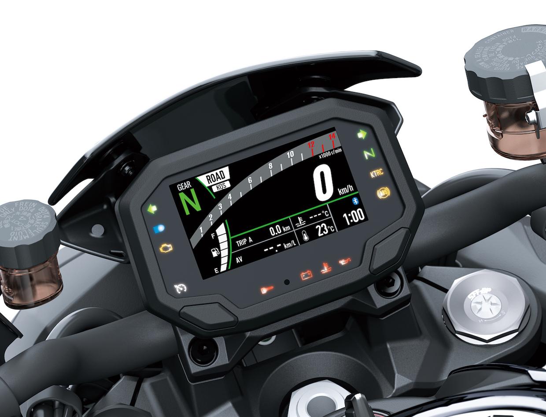 Kawasaki Z H2 Cockpit