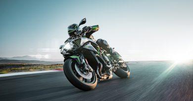 Kawasaki Z H2 Action